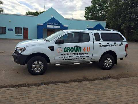 grown4u pickup truck